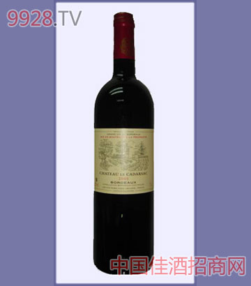 尼卡達沙斯城堡干紅葡萄酒