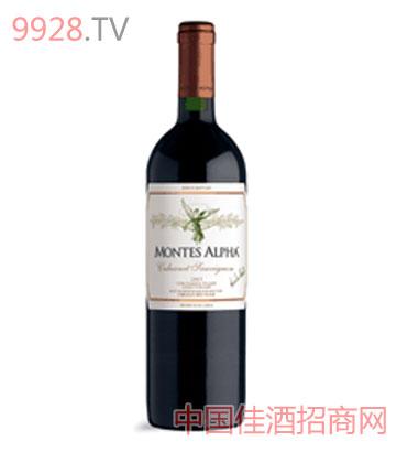 蒙特斯歐法美樂干紅葡萄酒