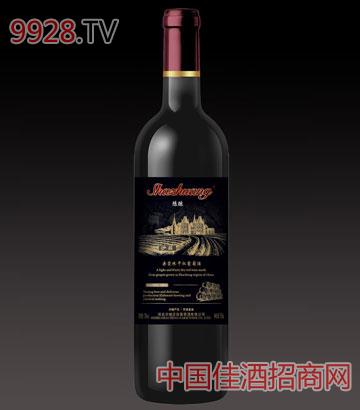 沙庄陈酿赤霞珠干红葡萄酒