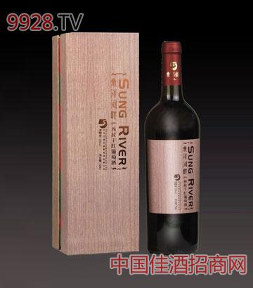 桑洋河畔西拉干红葡萄酒