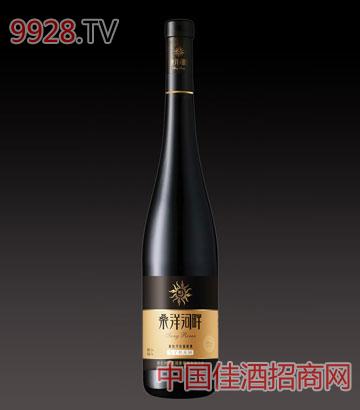 桑洋河畔西拉干红葡萄酒(长颈瓶)
