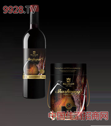 沙庄精选级干红葡萄酒