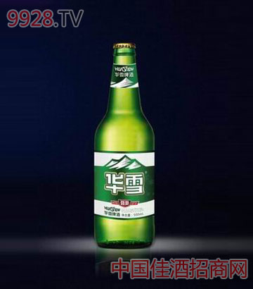 华雪劲爽啤酒