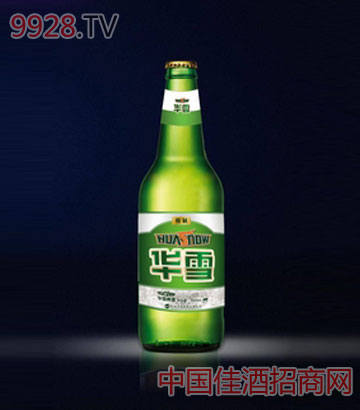 华雪精制啤酒