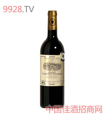 克莱门城堡干红葡萄酒