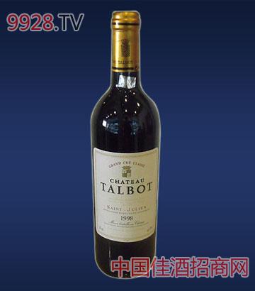 塔伯庄园干红葡萄酒1998