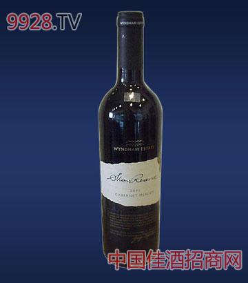 云咸加本纳梅洛展示珍藏葡萄酒