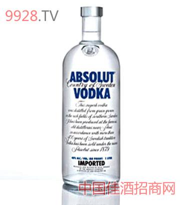 绝对伏特加酒75cl