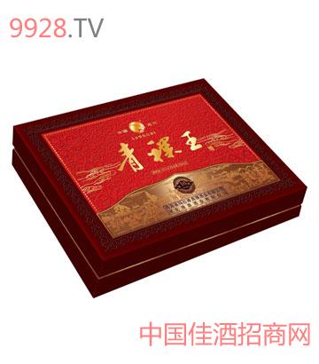 青稞王�Y盒酒