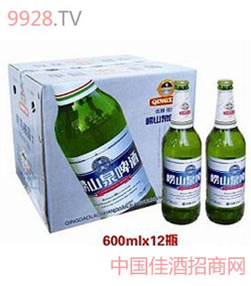 崂山泉啤酒600ml