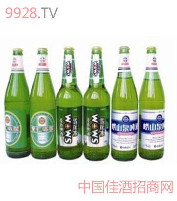 崂山泉系列啤酒