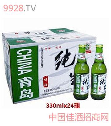 青岛纯生330ml啤酒