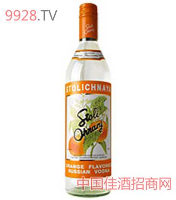 苏红伏特加酒(橙味)