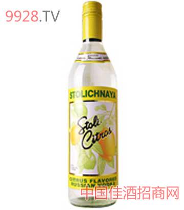 苏红伏特加酒(柠檬味)