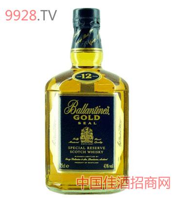 金玺百龄坛威士忌酒