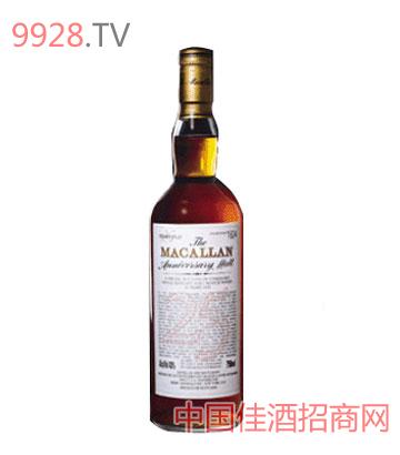 麦高伦25年纯麦威士忌酒