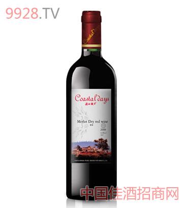 美乐干红2008葡萄酒