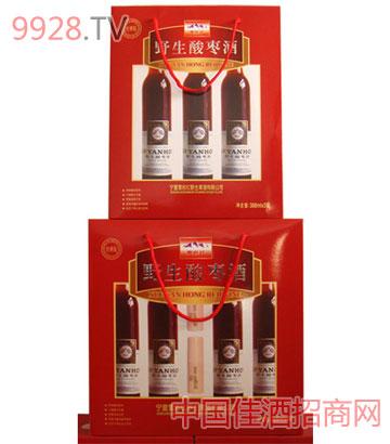 雪岩红礼品盒(3瓶装)