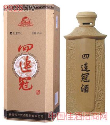 古井四连冠酒木盒全国招商中