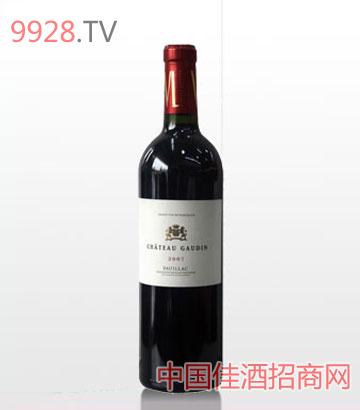 格丹城堡干紅葡萄酒