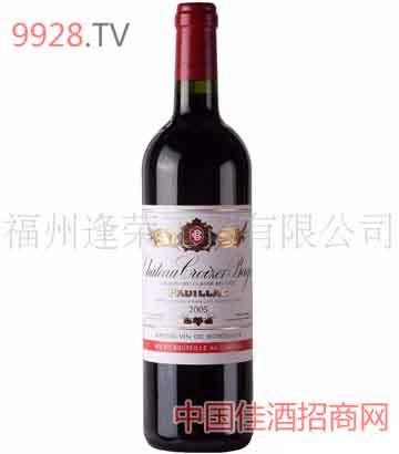 法国卡贝城堡干红葡萄酒