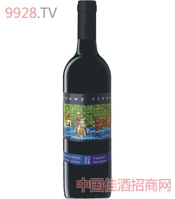 雪水河赤霞珠红葡萄酒