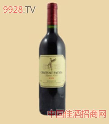 法莱雅干红2006葡萄酒
