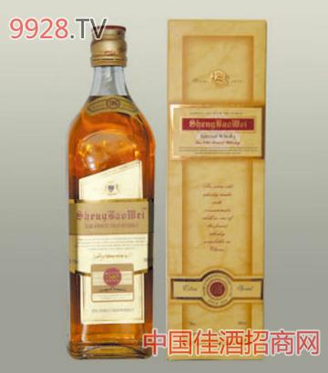 圣堡威威士忌酒(木盒)