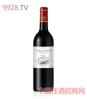 法国波多士卡帕纳干红葡萄酒