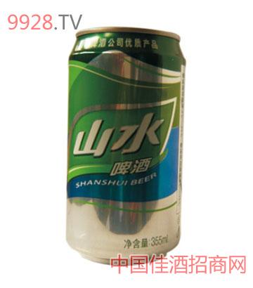 8o青岛山水啤酒听装