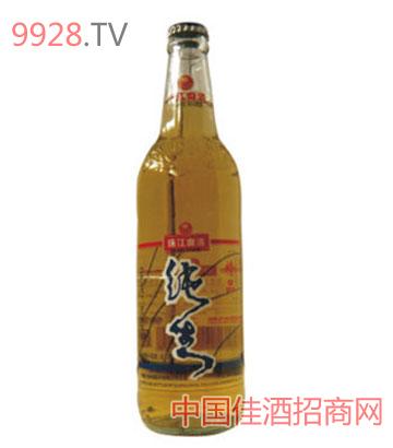 8o珠江精品纯生啤酒