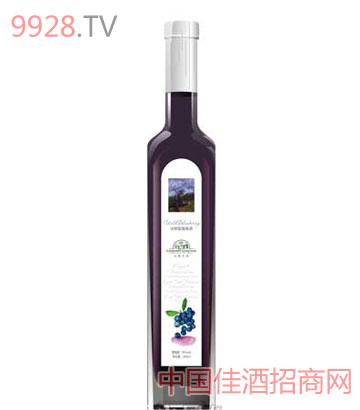 冰野蓝莓果酒