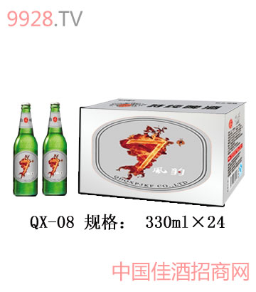 QX-08-七度风暴夜场啤酒(普通装)