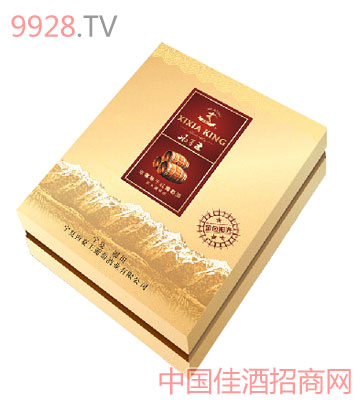 西夏王葡萄酒橡木桶干红双支礼盒