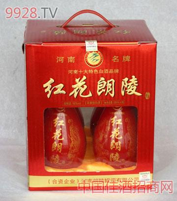 精装50度500MLX4红花朗陵酒