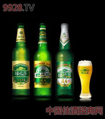 绿兰莎麦香啤酒