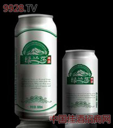 绿兰莎易拉罐啤酒