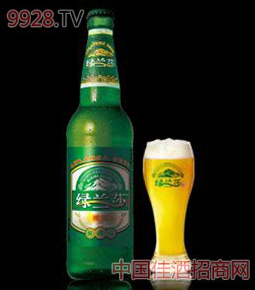 绿兰莎优爽啤酒