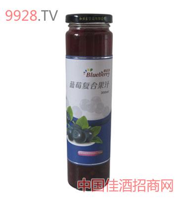 火丰庄园蓝莓复合果汁300g