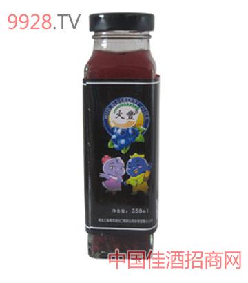 火丰庄园蓝莓果汁350g