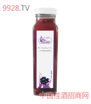 火丰庄园野生蓝莓果汁360ml