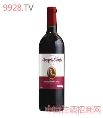 爱登侯爵干红葡萄酒