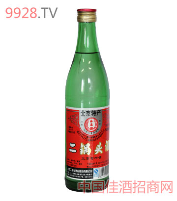 北京二锅头酒46度500ml