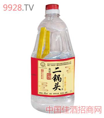 原浆北京二锅头酒46度2000ml