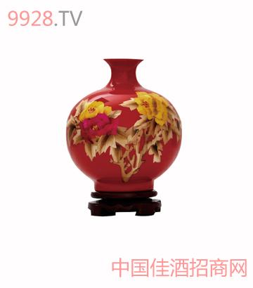 定制(麦秆画红)酒