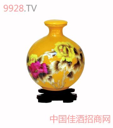 定制(麦秆画黄)酒