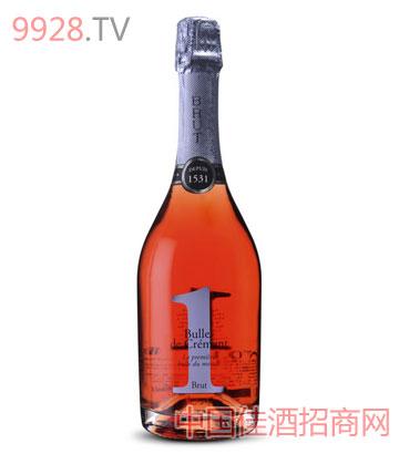 桃红恋人起泡酒