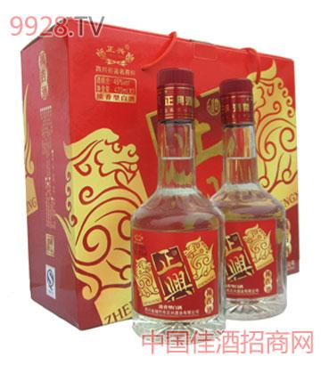 万吉双礼盒酒