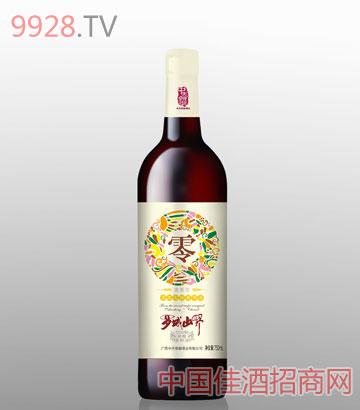 罗城山野葡萄酒清香零度葡萄酒