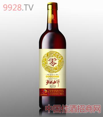 罗城山野葡萄酒雅香零度(金标)葡萄酒